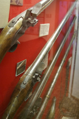 Musket and Rifle Display